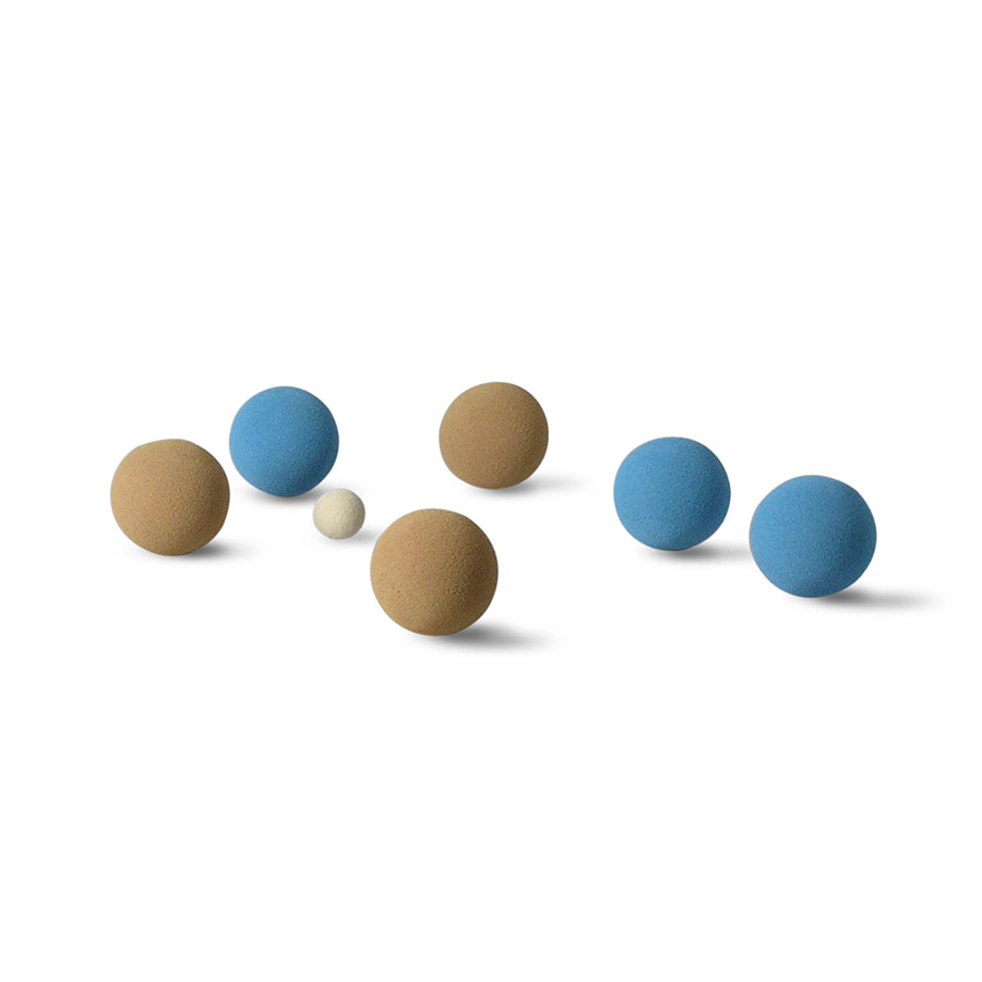 BCB-04 BOCCE BALL IN BAG (WEIGHT 80+/-10G./BALL)