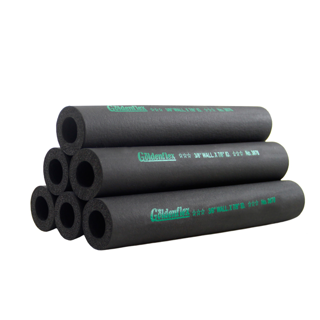 Goldenflex NBR rubber form Insulation Tube